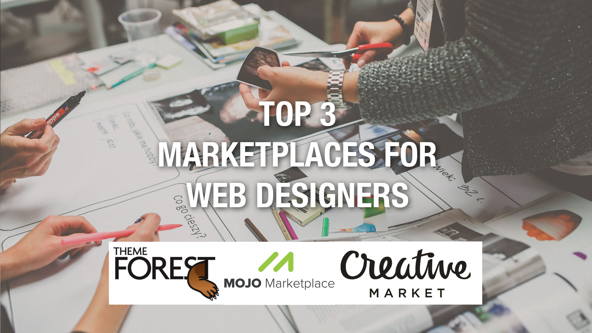 Top 3 Marketplaces For Web Designers In 2018 Live Template Editor
